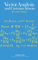 Vector Analysis and Cartesian Tensors