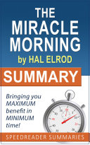 download ebook summary of the miracle morning by hal elrod pdf epub