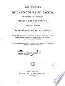 Los Anales De Cayo Cornelio T Cito