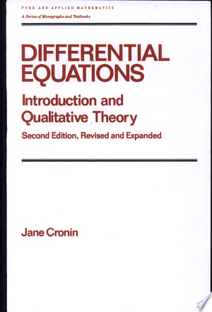 Ordinary Differential Equations: Introduction and Qualitative Theory, Third Edition - ISBN:9780824791896