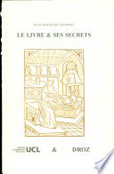Le livre   ses secrets