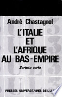 illustration L'Italie et l'Afrique au Bas-Empire
