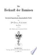 Die Herkunft der Rumänen
