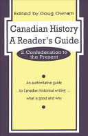 Canadian History: Confederation to the present