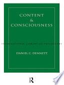 Content and Consciousness Book PDF