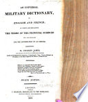 An Universal Military Dictionary  in English and French