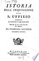 Istoria dell'Inquisizione