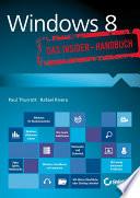 Windows 8   Das Insider Handbuch