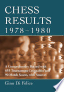 Chess Results  1978 1980