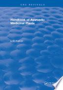 Crc Handbook Of Ayurvedic Medicinal Plants