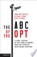 The ABC of the OPT And Concepts Central To The Israeli Occupation