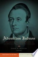 Adoniram Judson Book PDF