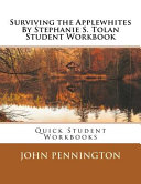 Surviving The Applewhites By Stephanie S Tolan Student Workbook