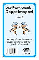 Lese-Reaktionsspiel: Doppelmoppel Level 3