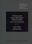 Family Law from Multiple Perspectives