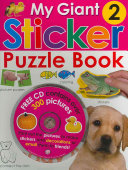 My Giant Sticker Puzzle Book 2  with CD