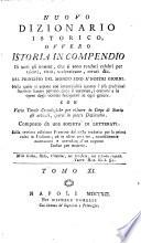 Nuovo dizionario istorico