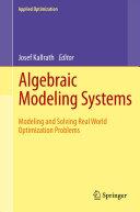 download ebook algebraic modeling systems pdf epub