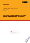 Kurze strategische Analyse von Amazon  SWOT Analyse  generische Wettbewerbsstrategie  5 Forces Analyse