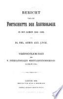 Bericht über die Fortschritte der Assyriologie in den Jahren 1886-1893