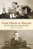 Book From Edison to Marconi