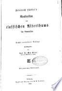 Friedrich L  bkers Reallexikon des klassischen altertums f  r Gymnasien