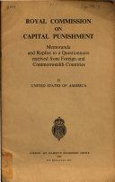 Royal Commission on Capital Punishment