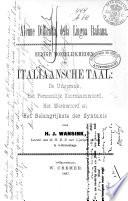 Alcune difficoltà della lingua Italiana