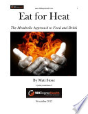 Eat for Heat  The Metabolic Approach to Food and Drink