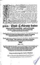Postilla Oder Aüßlegung Der Sontaglichen Euangelien, Vnnd Erklärung beyder Winter vnnd Sommertheils, auch von den hohen fürnehmen Festagen, durchs Jahr auß ...