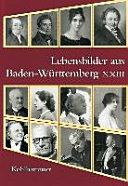 Lebensbilder Aus Baden-Wurttemberg