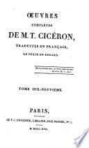OEuvres completes trad. en Francais, le texte en regard