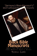 Black Bible Manuscripts