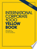 International Corporate 1000 Yellow Book