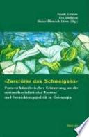 """Zerstörer des Schweigens"""