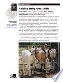 Raising Dairy Goat Kids