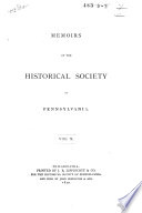 Correspondence Between William Penn and James Logan, Secretary of the Province of Pennsylvanis, and Others, 1700-1750