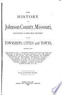 The History Of Johnson County Missouri