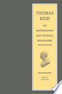 Thomas Reid On Mathematics And Natural Philosophy