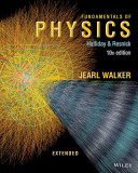 Fundamentals of Physics Extended 10E with WileyPlus Card