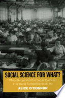 Social Science for What