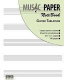 Music Paper Notebook   Guitar Tablature