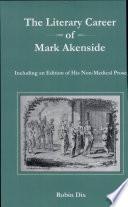 The Literary Career of Mark Akenside
