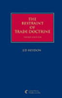 The Restraint of Trade Doctrine Restraint Of Trade The Text Discusses The