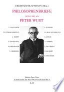 Philosophenbriefe von und an Peter Wust