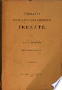 Bijdragen Tot De Kennis Der Residentie Ternate