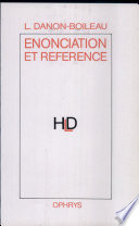 Enonciation et reference