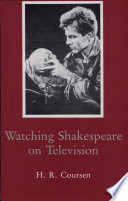 Watching Shakespeare on Television