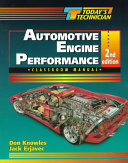 Today s Technician Automotive Engine Performance Classroom Shop Manual  2 Volume Set