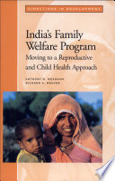 India S Family Welfare Program book